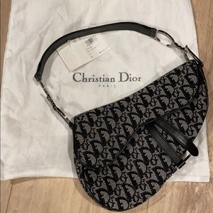 Dior sac selle logo Dior / saddle bag logo